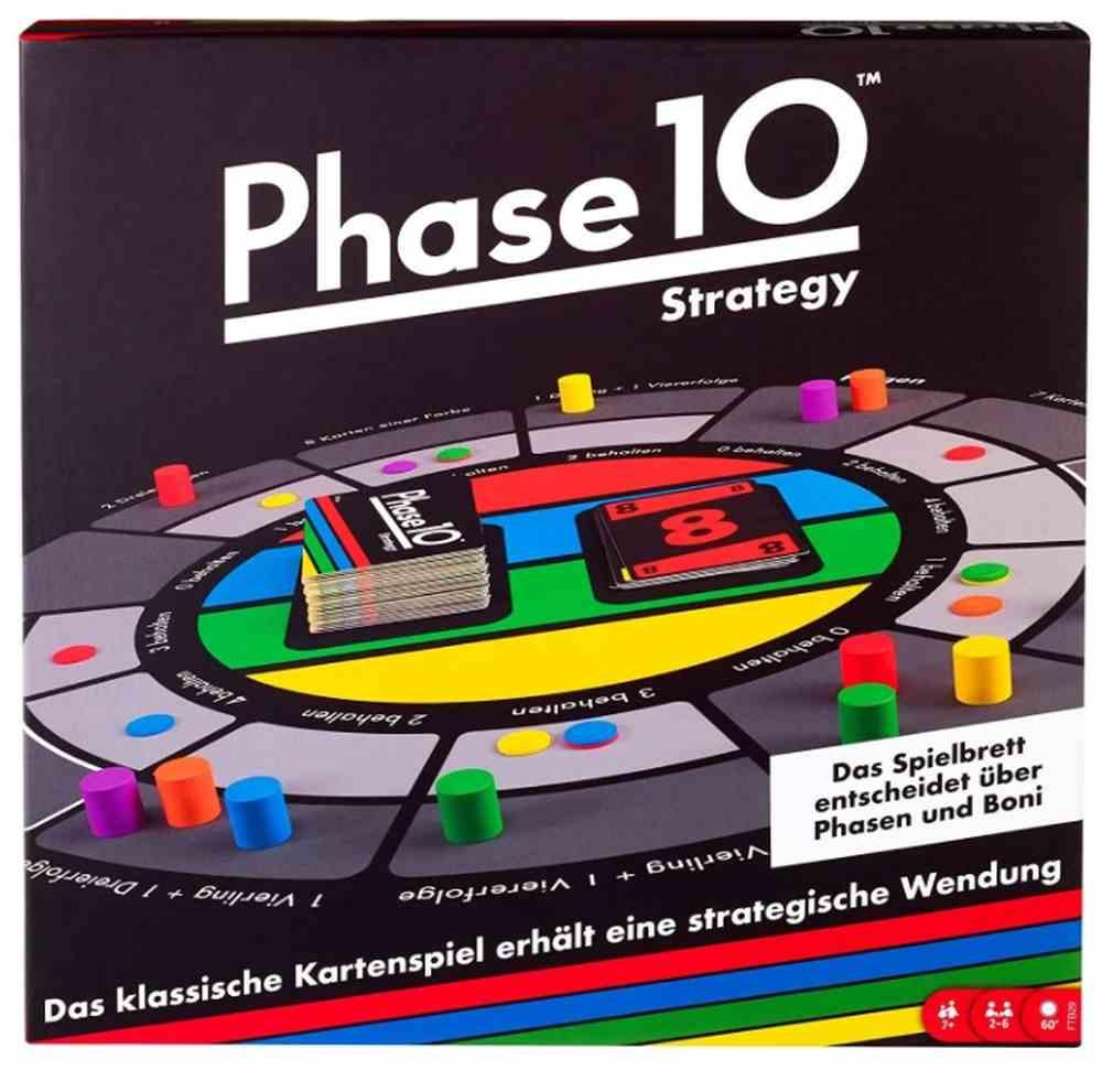Phase 10 Brettspiel Mattel
