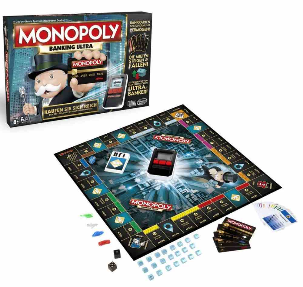 Spielanleitung Monopoly Banking
