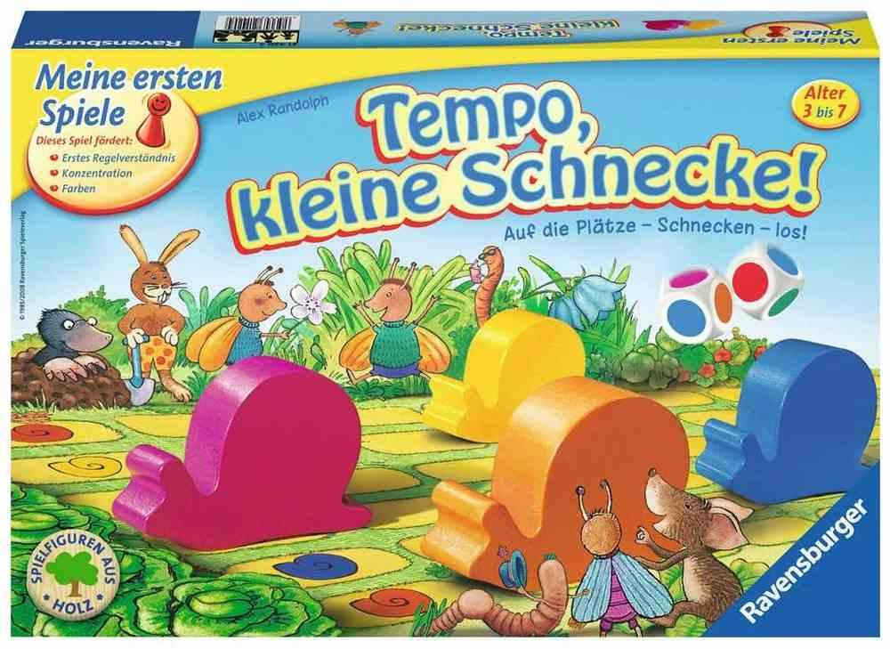 Ravensburger Kinderspiel Tempo kleine Schnecke,