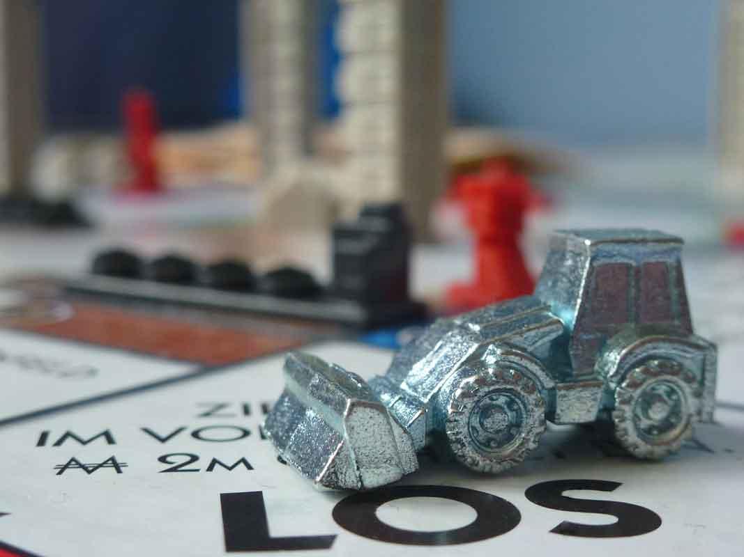 Monopoly Spielfigur