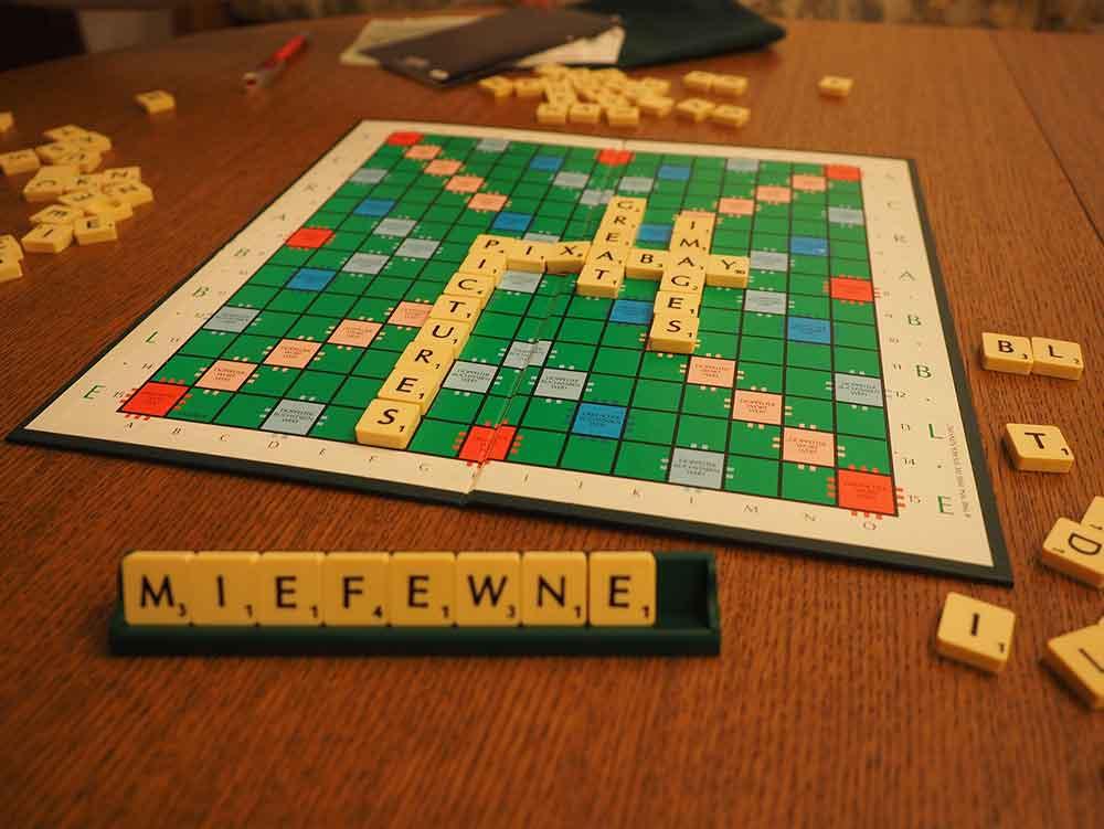 Scrabble Mehrere Wörter Legen